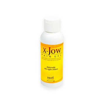 Herb-x Solutions Ink X-JOW: NATURAL PAIN RELIEF FOR ARTHRITIS, MUSCLE AND JOINT PAIN/ SPORTS INJURIES. (4 OZ)
