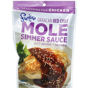 Frontera Medium Red Chili Simmer Mole Sauce, 8 oz, (Pack of 6)