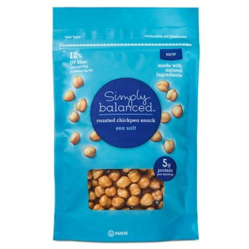 Sea Salt Roasted Chickpeas 5oz - Simply Balanced™