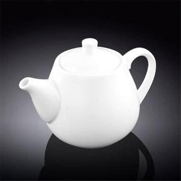 Wilmax 994004 700 ml Tea Pot White - Pack of 24