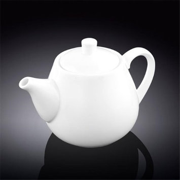 Wilmax 994004 750 ml Tea Pot White - Pack of 24