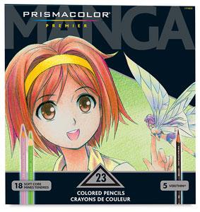 Prismacolor Manga Colored Pencil Set - 23 Color Set