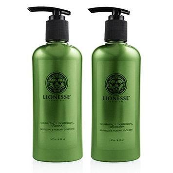 Lionesse Moisturizing Shampoo and Conditioner 2 in 1 Set, 200 Ml / 6.8 Fl. Oz
