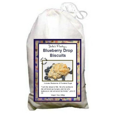 Glazed Blueberry Biscuits - Complete Just Add Water
