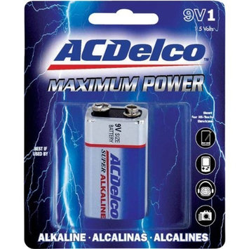 AC Delco 9V Maximum Power Alkaline Retail Battery - 4 Pack