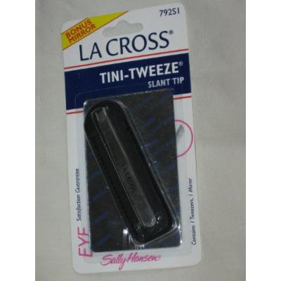 TINI-TWEEZE slant tip tweezers
