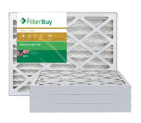 AFB Gold MERV 11 16x16x2 Pleated AC Furnace Air Filter. Filters. 100% produced in the USA. (Pack of 4)