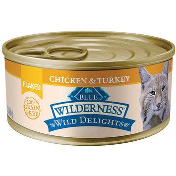 Blue Buffalo Company Blue Buffalo BLUE Wilderness Wild Delights Flaked Chicken and Turkey