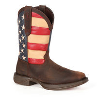 Durango Rebel USA Flag Western Boot for Men