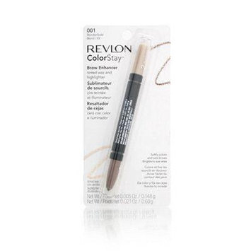 Revlon Colorstay Brow Enhancer Blonde/Gold 001, 0.15 oz (Pack of 3)
