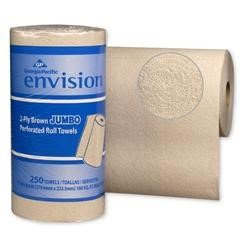 Envision Kitchen Paper Towel Roll 8.8 X 11 Inch, Case of 12, 4 Pack (48 Total)