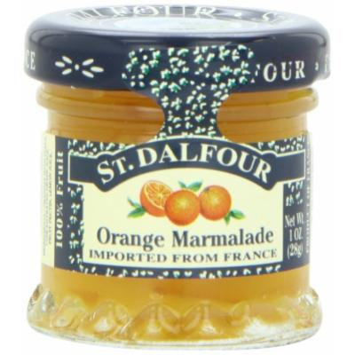ST. DALFOUR Orange Marmalade Conserves, 1 Ounce Jars (Pack of 48)