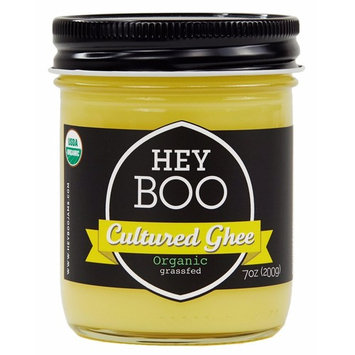 Organic Cultured Ghee - NEW from Award Winning European Styled High Fat Butter - California Grass Fed Cows - Premium Black Label, 7 oz.