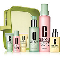 Clinique Great Home & Away Set for Oilier Skin (Type III/IV)
