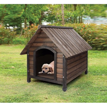 Benzara Woody Pet House, Oak Brown