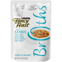 Fancy Feast® Wet Cat Food With Tuna & Vegetables In A Decadent Silky Broth