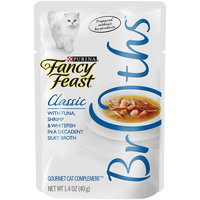 Fancy Feast® Wet Cat Food With Tuna, Shrimp & Whitefish In A Decadent Silky Broth