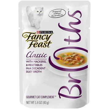 Fancy Feast® Mackerel & Vegetable Wet Cat Food In A Decadent Silky Broth