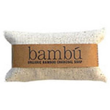 Bambu Soaps 231627 2 oz Citrus Blend Organic Bambu Charcoal Soap Bright Hand Bars