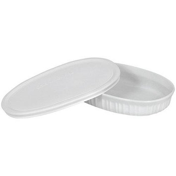 CorningWare French White 23-Ounce Oval Dish 1