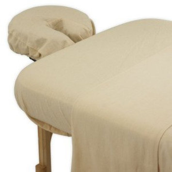 True Premium Cotton Flannel Massage Table Sheet 3 Pc Set (Head In The Clouds)