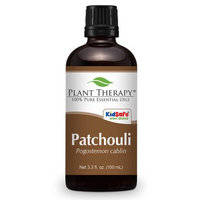 Patchouli Essential Oil. 100 ml (3.3 oz). 100% Pure, Undiluted, Therapeutic Grade.