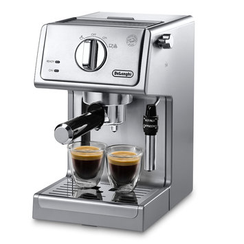 Delonghi De'Longhi ECP3630 15 Bar Pump Espresso and Cappuccino Machine, Stainless Steel (ECP3630)