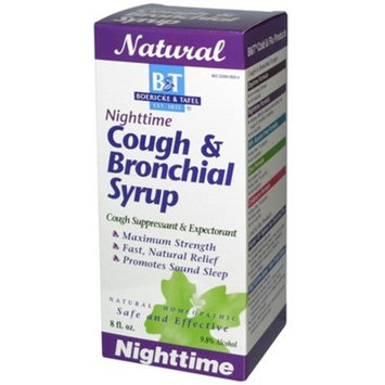 Boericke and Tafel Cough and Bronchial Syrup Nighttime - 8 fl oz Boericke and Tafel Cough and Bronc