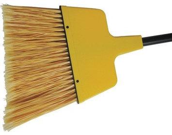 TOUGH GUY 46U233 Angle Broom, PVC, Yellow,60 in.