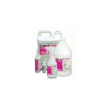 Metrex 13-1000 CaviCide Surface Disinfectant/Decontaminant Cleaner, 1 gal Capacity