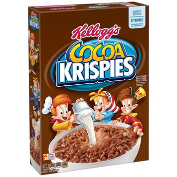 Kellogg's, Cocoa Rice Krispies Breakfast Cereal, Chocolate 15.5 Oz. Box (Pack of 2)