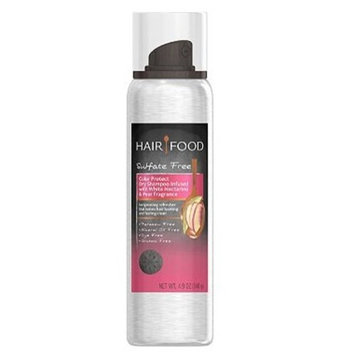 Hair Food Sulfate Free Color Protect Dry Shampoo Infused with White Nectarine & Pear Fragrance 4.9oz, pack of 1