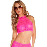 Cyclone Lace Halter Top, Lace Top