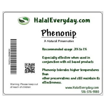Phenonip - Natural Preservative Used for Lotion, Cream, Lip Balm or Body Butter 2 Oz - Enough preservative to support approximately 12 lbs. of product