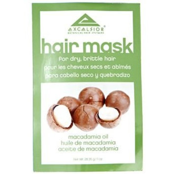 Excelsior Macadamia Oil Hair Mask Packette .10 oz. (Pack of 12)