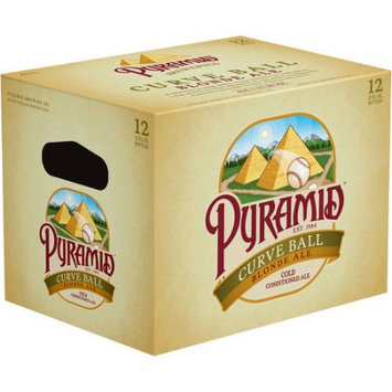 Pyramid Brewing Co. Pyramid® Curve Ball Blonde Ale Cold Conditioned Ale 12-12 fl. oz. Box