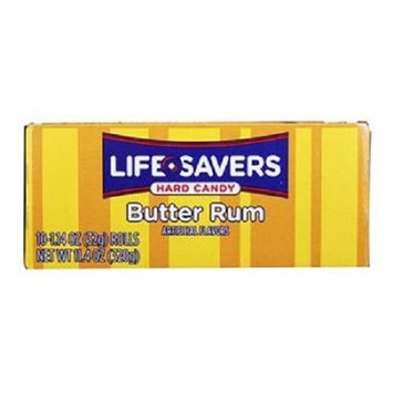 Product Of Lifesavers, Butter Rum - Roll, Count 20 (2.28 oz ) - Mints / Grab Varieties & Flavors