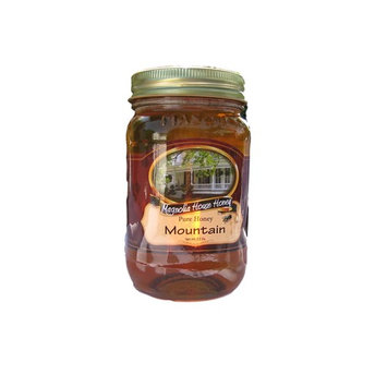Raw and Organic Mountain Honey 16oz
