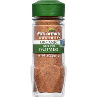 McCormick Gourmet Organic Nutmeg, Ground, 1.81 OZ