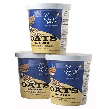 Four Whole Grains Muesli 2.2 oz. Cups Oats So Good by True North Granola (Original Flavor, 6 PACK)