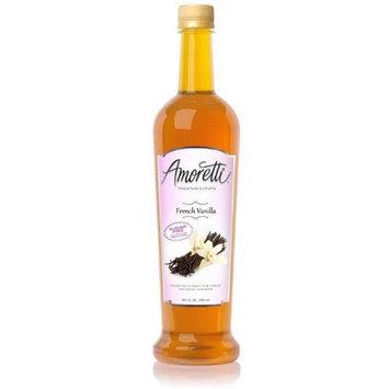 Amoretti Premium Sugar Free Flavoring, French Vanilla, 25.4 Ounce