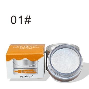 Women Eyeshadow DEESEE(TM) PNF Oil Paint Bucket Fashionable Charm Eye Shadow Cream New Metallic Matte Pigment Makeup Palette Shimmer