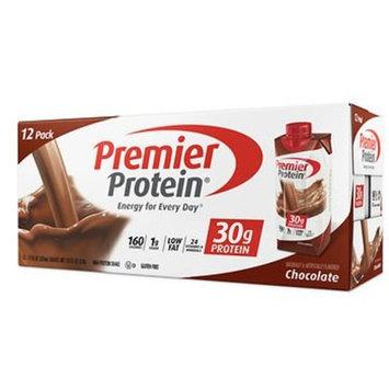 Premier Protein Chocolate Shake, 12 ct./11 oz. AS
