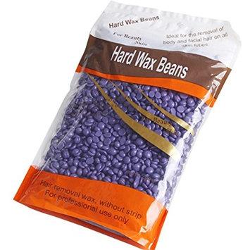 Hairless Summer! Skin Care Depilatory Pearl Hard Wax Brazilian Granules Hot Film Hair Removal Wax Bean ,10 Ounce/300g ,Lavendel