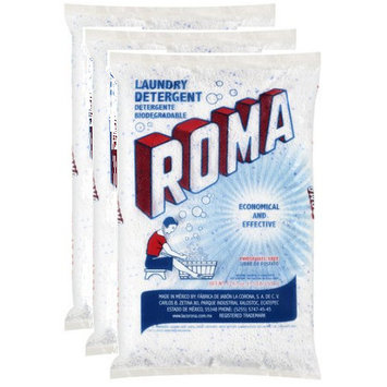 Roma Laundry Detergent 17.63 Oz, Pack of 3