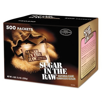 Sugar In The Raw 827749 Sugar Packets Raw Sugar 0.18 oz Packets 500 per Carton