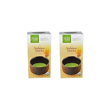 Rishi Tea Organic Teahouse Matcha, 0.70 Ounce (Pack of 2)