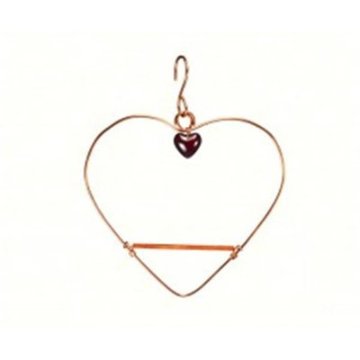 Songbird Essentials SEHHTHS Solid Copper Tweet Heart Swing