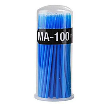 100pcs Cotton Swabs, Safety Cotton Buds Sticks for Applying and Removing Make-up(Random Color)