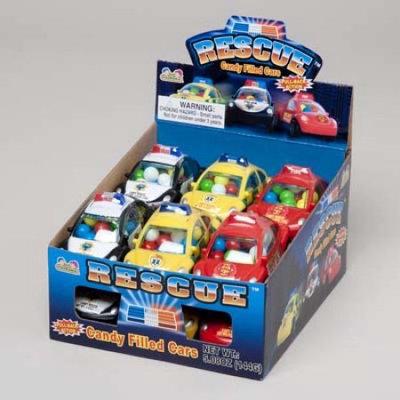 Ddi Rescue Candy Filled Car.42 ozcd(Case of 12)